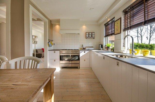 Snow-White Clean Kitchen? No Problem!